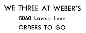 we-three-at-webers_5060-lovers-lane_HPHS-yrbk_1959_ad
