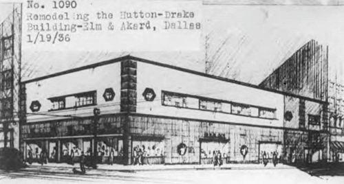 hutton-drake-bldg_remodeling_drawing_1936_degolyer-lib_SMU