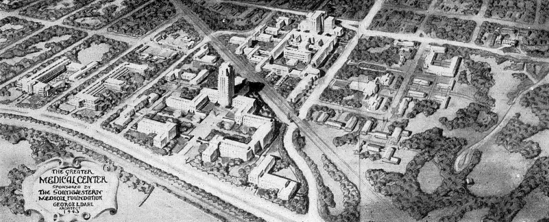 southwestern-medical-college_1944 yrbk_george-dahl_greater-dallas-medical-center