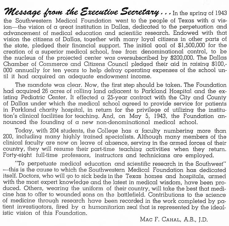 southwestern-medical-college_1944 yrbk_story