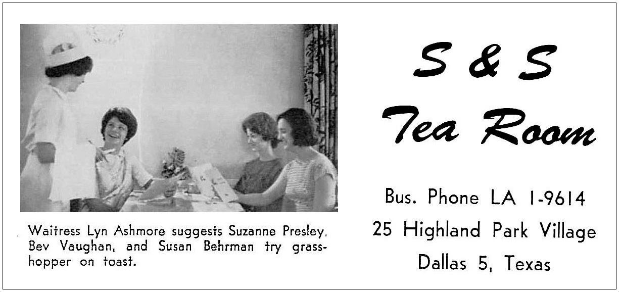 s-and-s-tea-room_HPHS-yrbk-1964