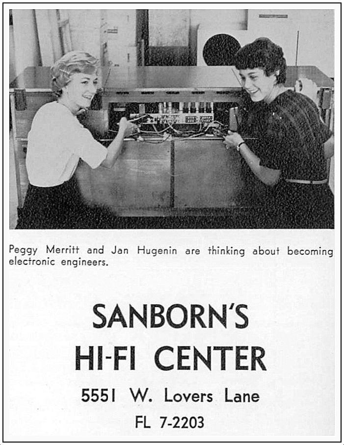 sanborns-hi-fi-center_HPHS-yrbk_1964
