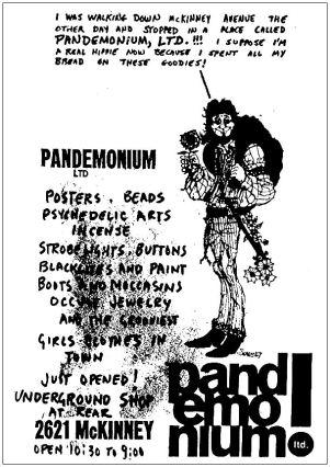 pandemonium_ad_st-marks_1968-yrbk