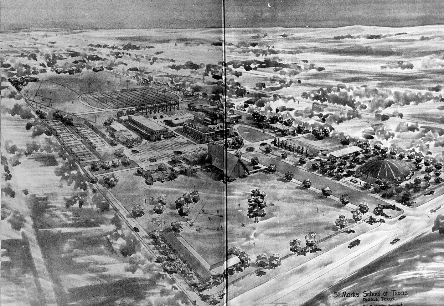 st-marks_campus_st-marks-yrbk_aerial_1960