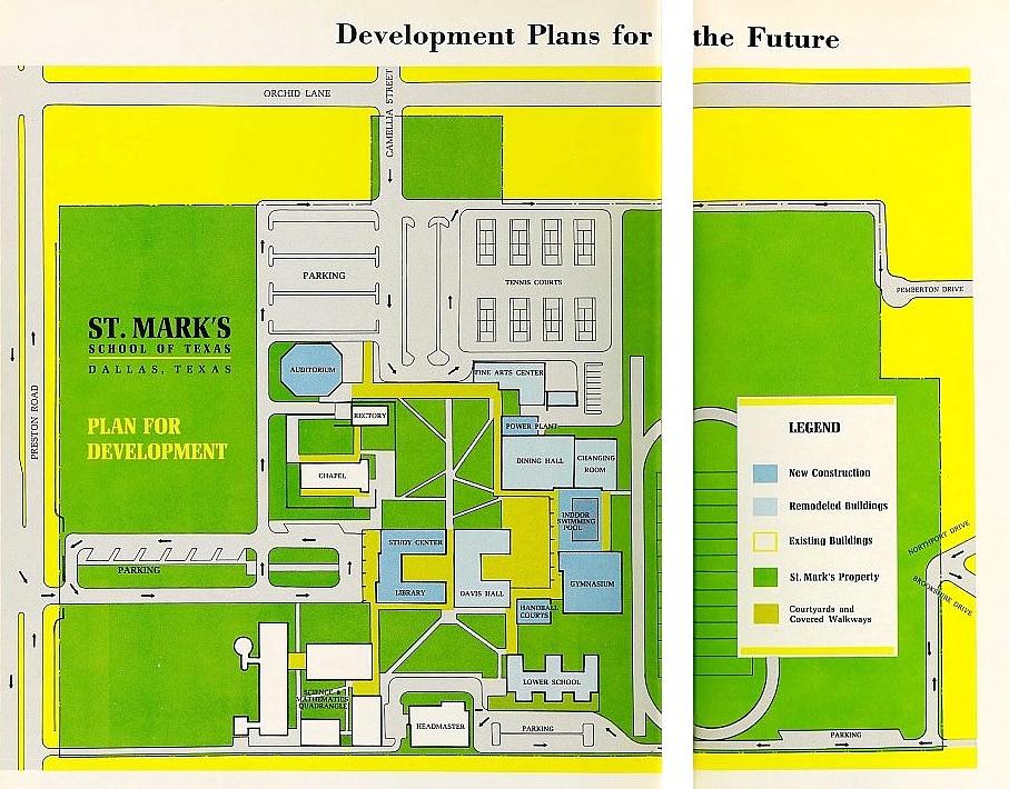 st-marks_development-plan_1965-yearbook