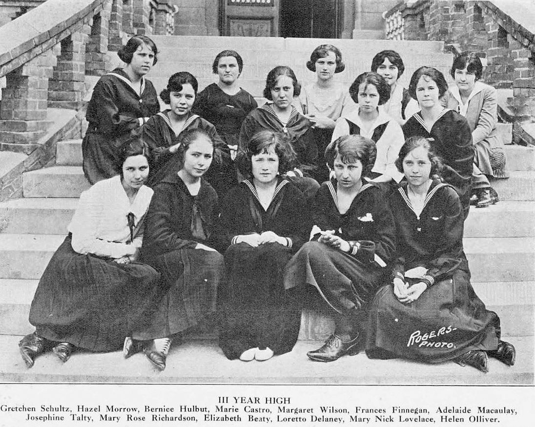 ursuline_1921-yrbk_3-year-high