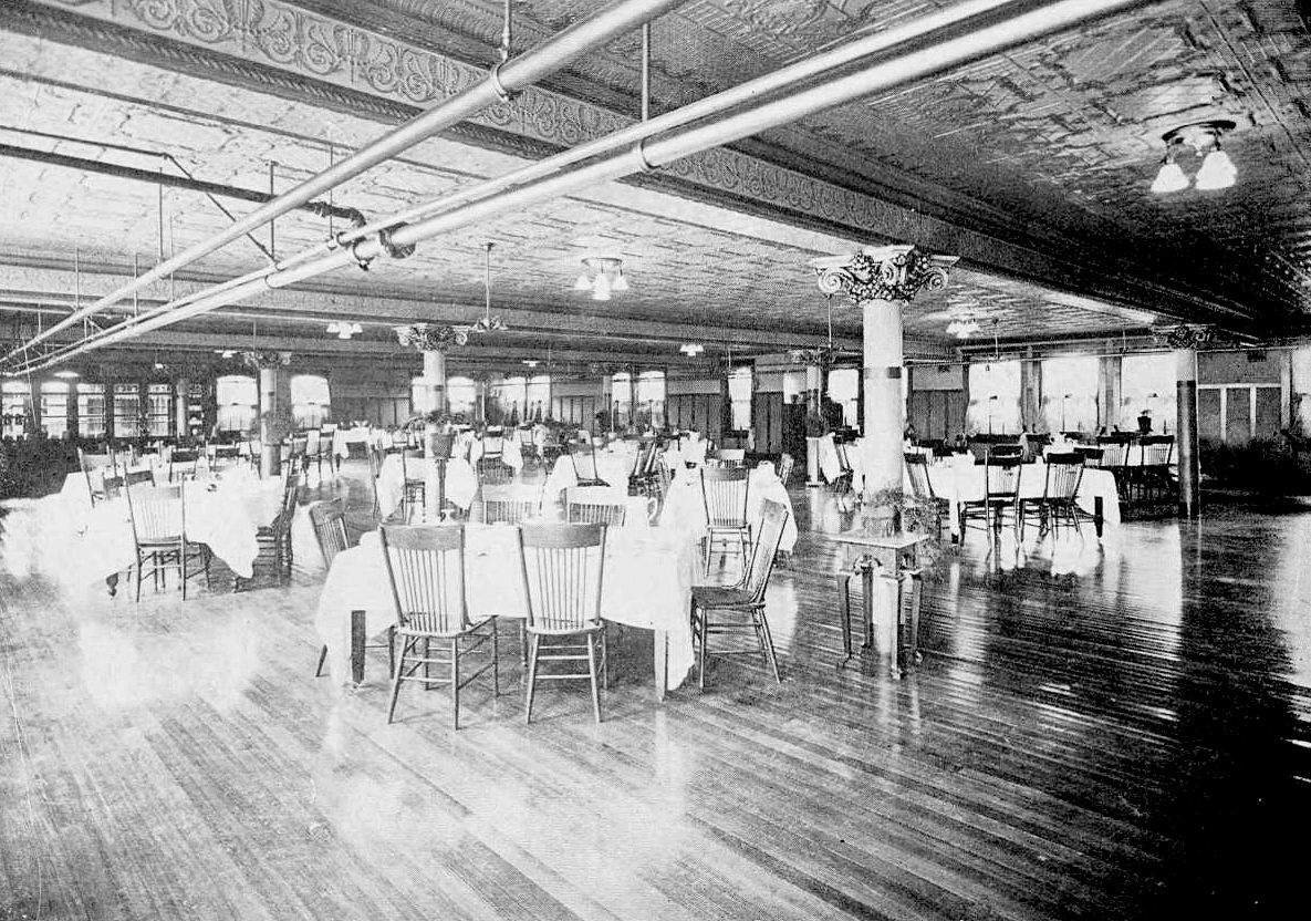 ursuline_1921-yrbk_dining-hall