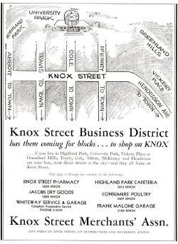knox-street-business-district_1932-smu-rotunda