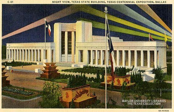 tx-centennial_night_hall-of-state_lights_flickr_baylor