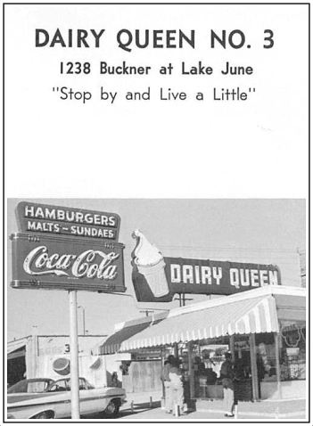 spruce-high-school_1967-yrbk_dairy-queen_buckner-and-lake-june_full
