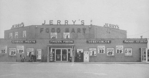 spruce-high-school_1965-yrbk_jerrys-food-mart_lake-june-rd