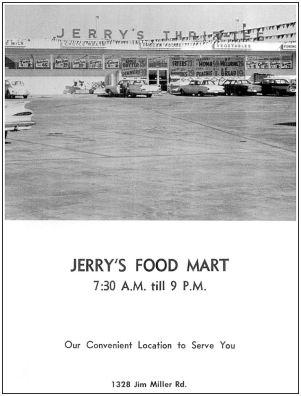 spruce-high-school_1966-yrbk_jerrys-food-mart
