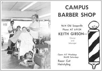 spruce-high-school_1968-yrbk_campus-barber-shop